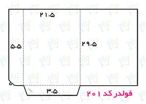 طریقه طراحی فولدر