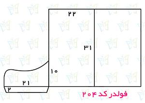 طریقه طراحی فولدر 204