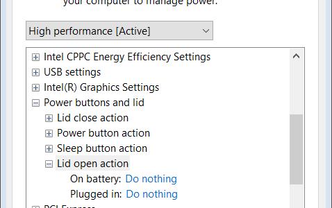 مشکل روشن شدن لپ تاپ به محض باز کردن درب آن lid open action