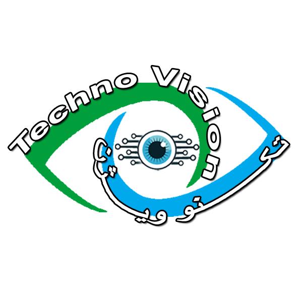 طرح لوگو نرم افزار داروخانه techno-vision